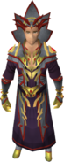 Ambassador of Chaos outfit equipped (male)