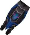 Black plateskirt (h2) detail