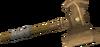 Bronze warhammer detail