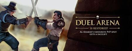 Duel Arena rework banner