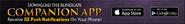Companion App lobby banner