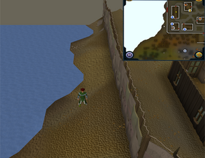 Compass clue Piscatoris west of Piscatoris Fishing Colony