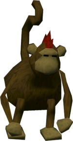 Monkey colonist