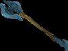 Rune halberd detail