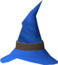Wizard hat (blue) detail