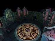 Castle Drakan courtyard