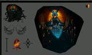 Icyene tomb concept art