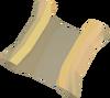 Een clue scroll