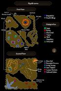 Viyeldi caves map