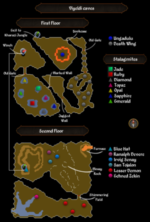 Viyeldi caves map