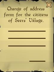 Address form read