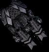 Malevolent greaves (Third Age) detail