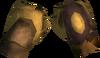 Golden warpriest of Armadyl gauntlets detail