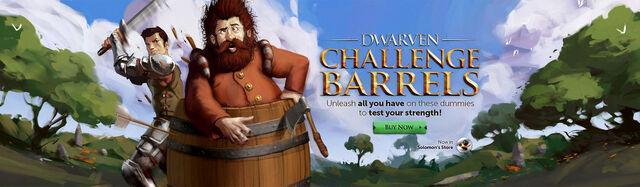File:Dwarven Challenge Barrels head banner.jpg