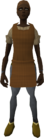Brown apron (female) equipped
