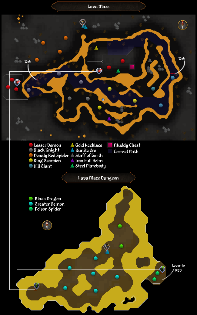 lava maze dungeon runescape wiki fandom powered by wikia