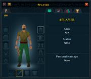 Player examine (privacy)