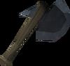 Primal hatchet detail