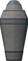 Canopic jar (elbow marrow) detail