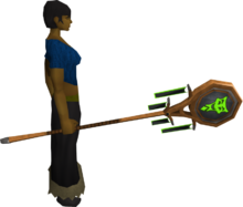 Banner of Sliske (tier 2) equipped