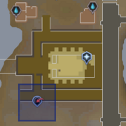 Sophanem Slayer Dungeon entrance location
