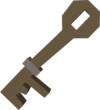 Shed key detail