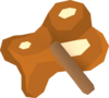 Chocolatey goop detail