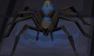 Blue spider