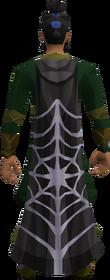Web cloak equipped