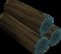 Blue logs (Gielinor Games) detail.png