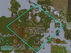 Crystal tree map diamond