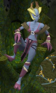 Ramokee Skinweaver (Polypore Dungeon)