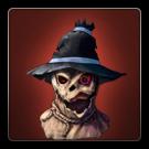 Scarecrow mask icon