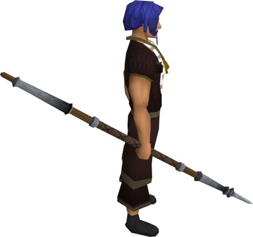 File:Steel spear equipped.png