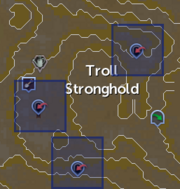 Troll Stronghold entrances locations