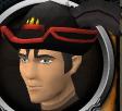 Dragon ceremonial hat chathead