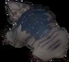 Clingy mole detail