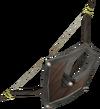 Oak shieldbow detail
