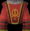 Queen's guard shirt detail