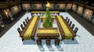 Banquet area decoration