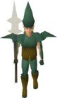 Elf warrior (Iorwerth pike) old