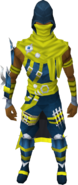 Jagex Moderator Outfit equipped
