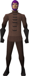 Plague set equipped