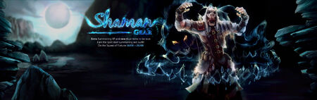 Shaman gear banner