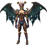 Fallen Nihil Outfit (female) equipped
