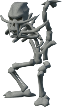 Skeletal horror (no arms)