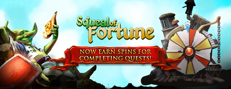 SoF - Spins from Quests Banner