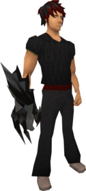 Lucky chaotic claw equipped