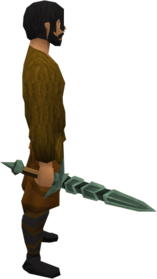Adamant longsword equipped