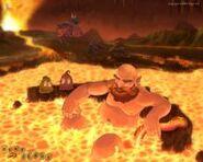 Thumb lava-dwarf